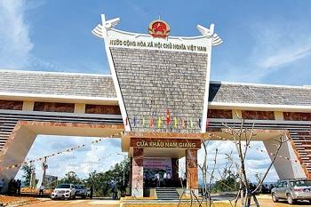 Cửa khẩu Nam Giang được nâng cấp thành cửa khẩu quốc tế