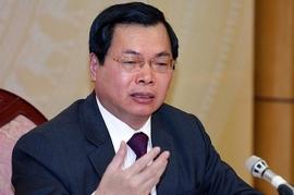 Cựu Bộ trưởng Bộ Công thương Vũ Huy Hoàng bị khởi tố