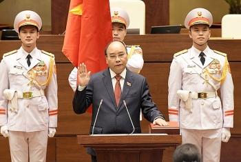 Ông Nguyễn Xuân Phúc tiếp tục được giới thiệu bầu giữ chức Chủ tịch nước nhiệm kỳ 2021 - 2026