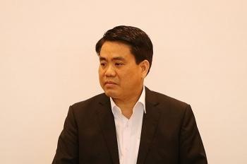 Chủ tịch TP Hà Nội Nguyễn Đức Chung bị đình chỉ công tác 90 ngày để điều tra