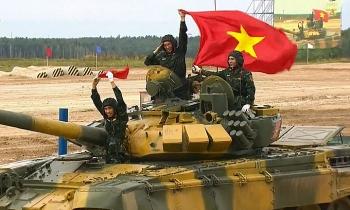 Xem trực tiếp Việt Nam tranh tài Tank Biathlon tại Army Games 2020