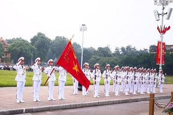 Những hình ảnh đẹp nhất trong lễ thượng cờ kỷ niệm 75 năm Quốc khánh