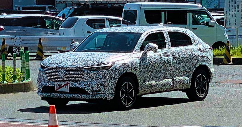 Honda HR-V 2021 bất ngờ lộ diện, rò rỉ thiết kế hoành tráng hơn bản cũ ảnh 3