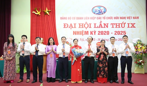 Chào mừng 70 ngày truyền thống Liên hiệp các tổ chức Hữu nghị Việt Nam và Đại hội thi đua yêu nước giai đoạn 2020 - 2025