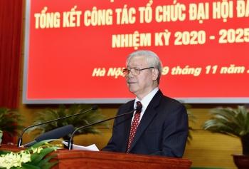 Đại hội Đảng bộ các cấp nhiệm kỳ 2020 - 2025 là tiền đề rất quan trọng góp phần vào thành công Đại hội XIII của Đảng