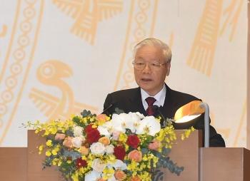 Tổng Bí thư, Chủ tịch nước Nguyễn Phú Trọng: Năm 2020 thành công nhất trong 5 năm vừa qua