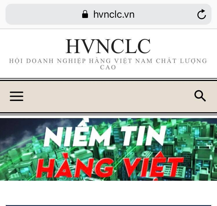 danh sach 542 doanh nghiep hang viet nam chat luong cao 2019
