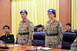 Thêm 2 sĩ quan Việt Nam tham gia Lực lượng Gìn giữ hòa bình Liên hiệp quốc