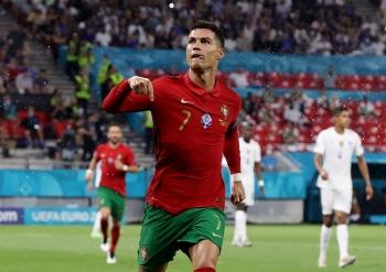 Cristiano Ronaldo trở thành Vua phá lưới EURO 2021