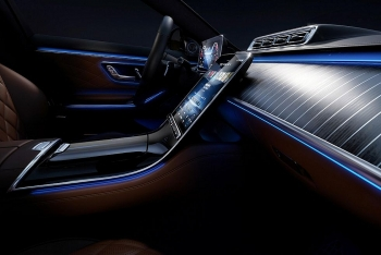 Mercedes-Benz S-Class 2021 lộ nội thất