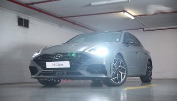 Hyundai Sonata N-Line 2021 lộ diện, tăng sức mạnh