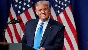 Bầu cử Mỹ: Tổng thống Trump tiếp tục trở thành ứng viên Đảng Cộng hòa