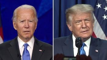 So view hai hội nghị đảng Cộng hòa và Dân chủ: Đêm đầu tiên Biden dẫn trước Trump