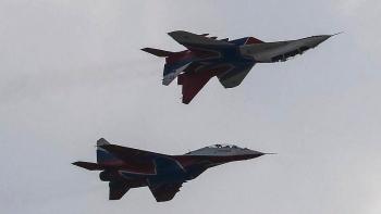 Tiêm kích MiG-31 của Nga truy cản máy bay do thám Na Uy trên biển Barents