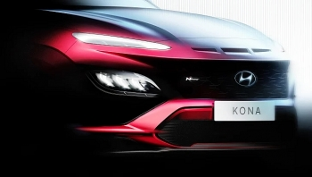Hyundai Kona 2021 được thiết kế hầm hố hơn, thêm phiên bản hiệu suất cao