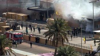Sân bay Baghdad của Iraq bị tên lửa tấn công