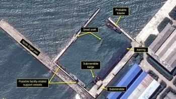 CSIS: Triều Tiên chuẩn bị phóng tên lửa từ tàu ngầm