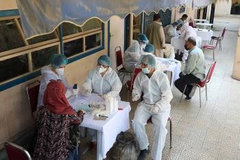 Hơn 200 nhân viên Liên Hợp Quốc ở Syria bị nhiễm COVID-19