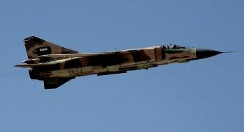 Tiêm kích MiG-23 bị rơi ở miền đông Syria