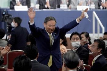 Ông Yoshihide Suga trở thành lãnh đạo đảng cầm quyền Nhật Bản