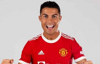 MU công bố số áo của Cristiano Ronaldo