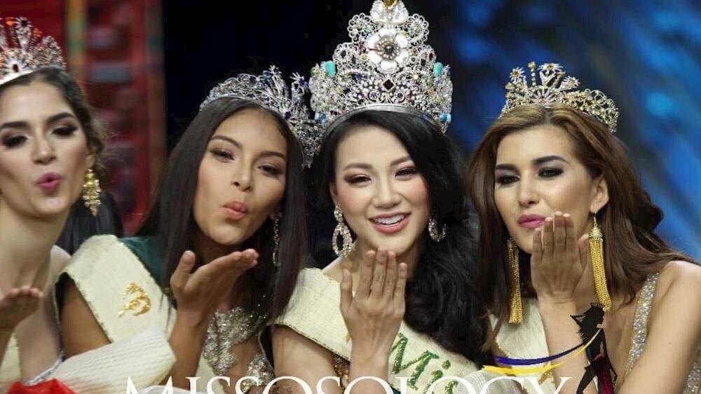 nhan sac viet nam se vang bong tren dau truong miss earth 2019