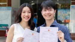 Á hậu Thúy Vân đăng ký kết hôn với doanh nhân Nhật Vũ