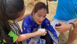 Tin tức giải trí showbiz Việt 5/7: Cát Tường gặp tai nạn ở phim trường