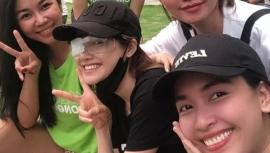 Tin tức giải trí showbiz Việt 6/7: Nhã Phương băng kín một mắt, nghệ sĩ Ái Như bị chấn thương cột sống
