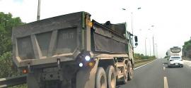 Tin tức tai nạn giao thông sáng 6/7: Xe ben liều lĩnh lùi ngược chiều ở làn 120km/h trên cao tốc