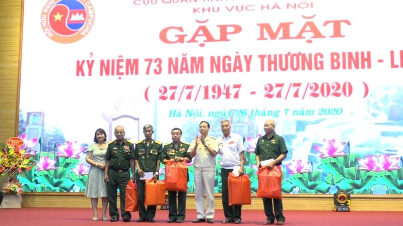Cựu quân tình nguyện Mặt trận 479 khu vực Hà Nội tiếp tục phát huy tình đoàn kết Việt Nam - Campuchia