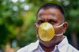 Choáng với khẩu trang vàng giá hơn 93 triệu đồng phòng chống COVID-19