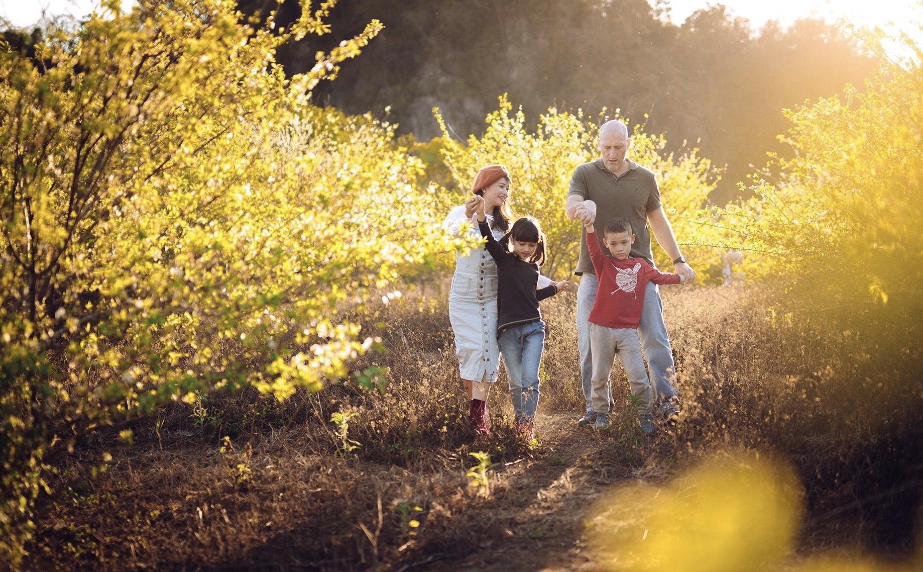 Gia đình bạn có thể cùng nhau tận hưởng những phút giây tuyệt vời bên nhau tại đây. (Ảnh: Toc Bac)