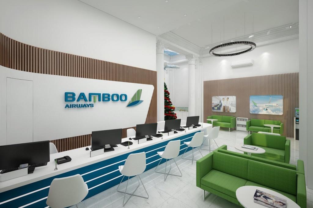 bamboo airways tai hien khoang thuong gia giua long ha noi voi phong ve 30 trang tien