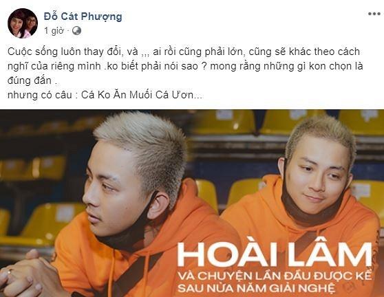 facebook sao viet hom nay 117 ho quang hieu gay soc cat phuong nhac nho hoai lam