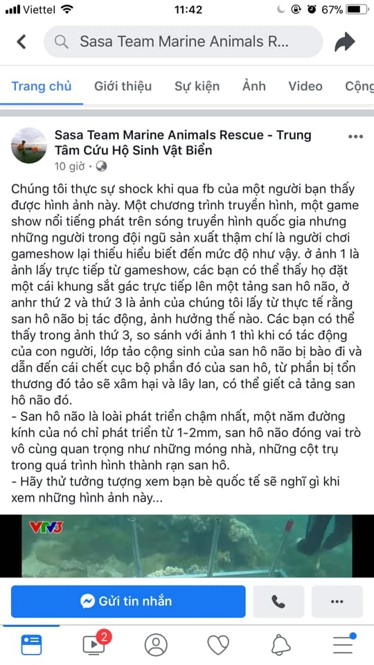 chuong trinh cuoc dua ky thu 2019 bi chi trich vi co hanh vi pha hoai sinh vat bien