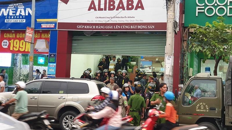 cong an xac dinh vai tro cua ceo alibaba trong vu an dia oc alibaba