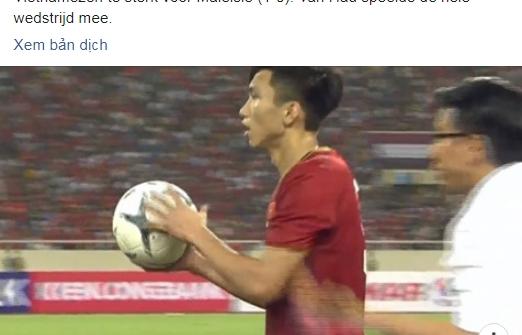 sc heerenveen chuc mung doan van hau sau chien thang vong loai world cup 2022