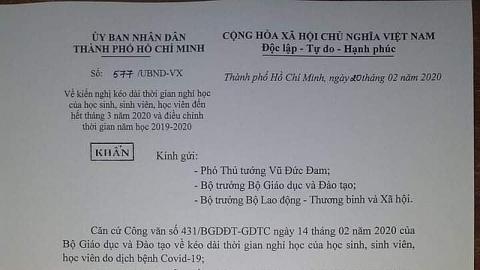 tphcm chinh thuc de xuat hoc sinh ca nuoc nghi hoc het thang 3