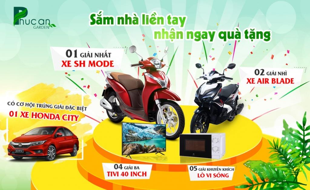 nhieu uu dai chiet khau khung cho khach hang mua phuc an garden