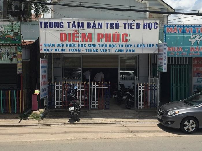 co so giu tre khong phep de quen be trai 7 tuoi trong truong o binh duong bi dinh chi hoat dong