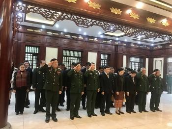 Đại sứ quán Lào tại Việt Nam, VUFO, Hội Hữu nghị Việt Nam - Lào thăm Bộ Tư lệnh Thủ đô Hà Nội