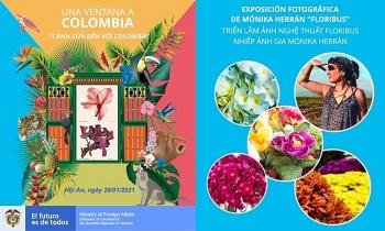 """Triển lãm """"Floribus""""- muôn sắc hoa Colombia"""