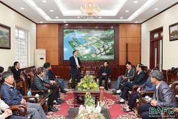 Đại học Nông-Lâm Bắc Giang chú trọng hợp tác với các trường Trung Quốc