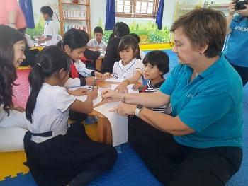 UNICEF trang bị kỹ năng, vật chất ứng phó với thiên tai cho trẻ em Quảng Nam