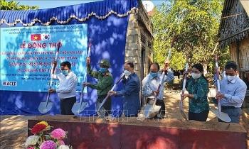 Trung tâm Văn hóa Hàn Quốc tài trợ hơn 1,3 tỷ đồng xây làng hữu nghị Việt-Hàn tại huyện Bác Ái (Ninh Thuận)