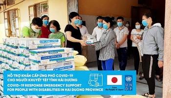 200 người khiếm thị và người khuyết tật Hải Dương được hỗ trợ khẩn cấp trong đại dịch COVID-19