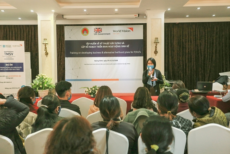 World Vision Việt Nam nỗ lực giúp nạn nhân mua bán người hồi phục và tái hoà nhập cộng đồng