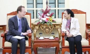 Phó Đại sứ Christopher Klein mong muốn góp phần thúc đẩy mối quan hệ hợp tác Việt - Mỹ