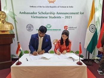 113 suất học bổng du học Ấn Độ cho người Việt Nam trong chương trình Học bổng Đại sứ 2021